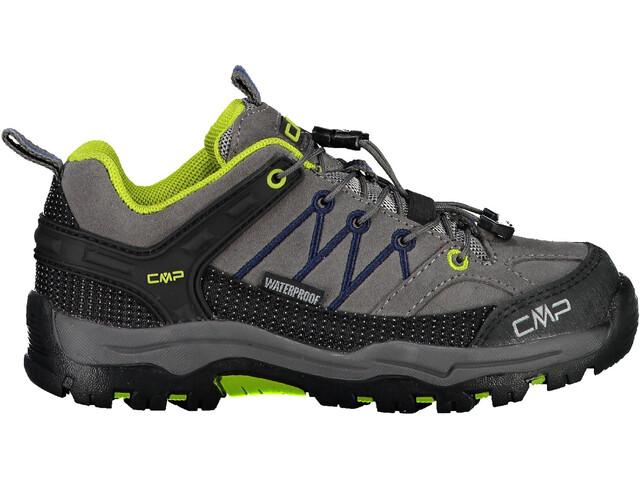 CMP Campagnolo Rigel Low WP Trekking Shoes Kinder graffite/marine